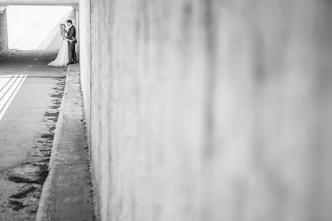 industriele trouwreportage fietstunnel tubbergen
