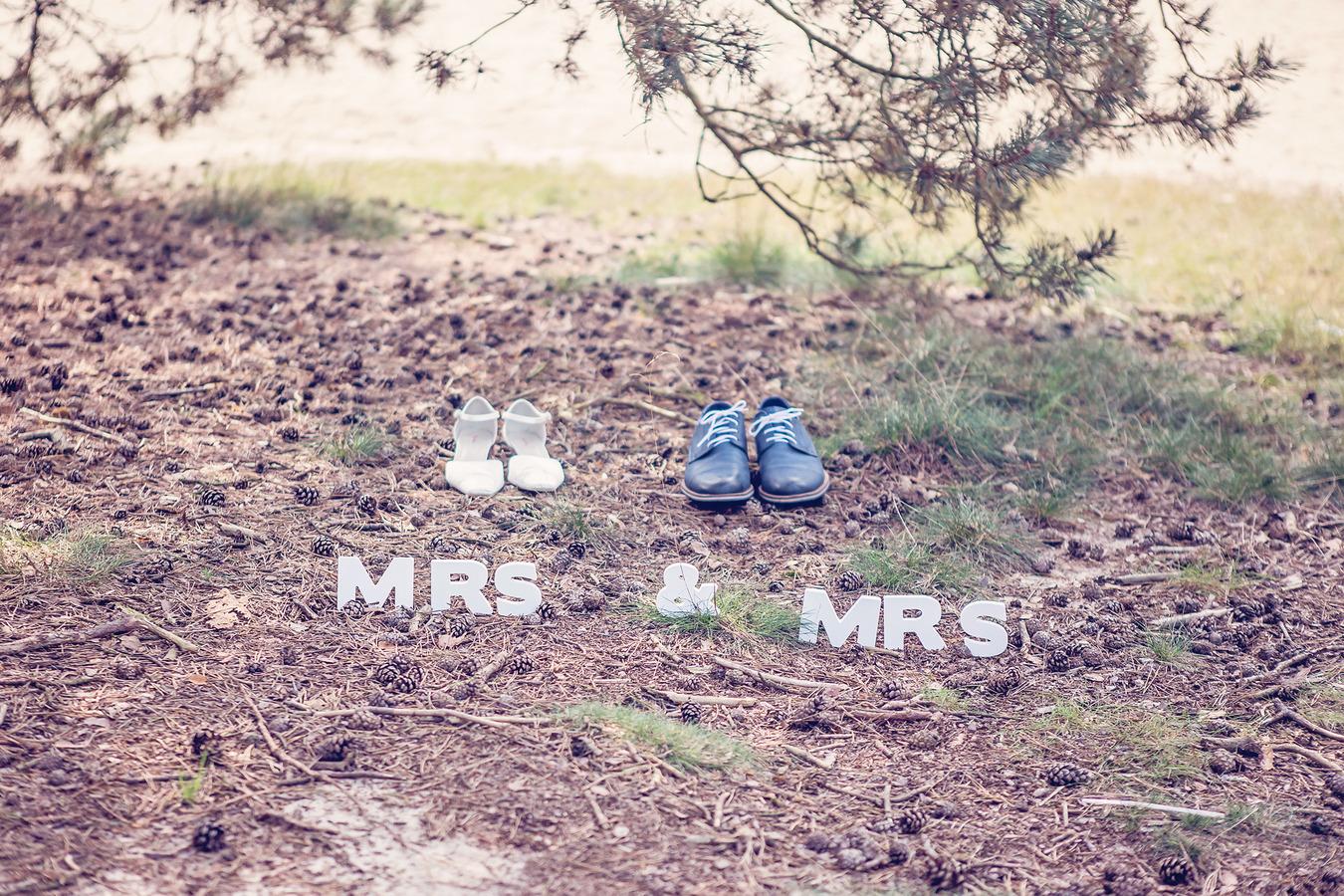 mrs en mrs gay wedding same sex marriage bij het lutterzand de lutte