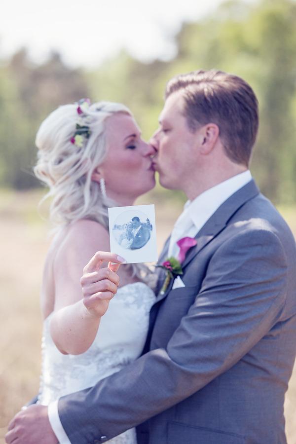vintage wedding tubbergen polaroid