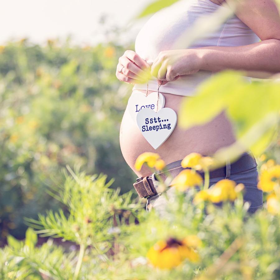 zwangerschapsshoot wilde bloemen maisdoolhof fleringen