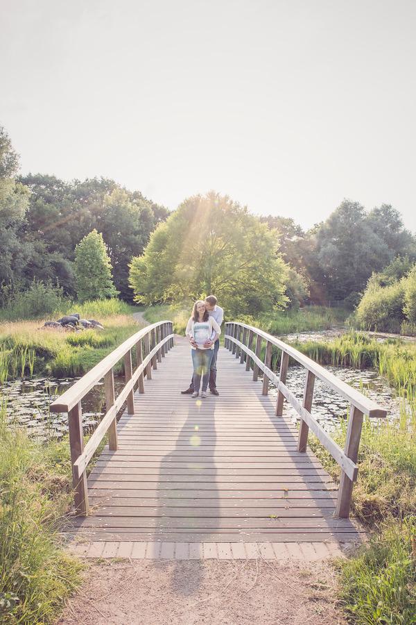 zwangerschapsshoot arboretum de lutte